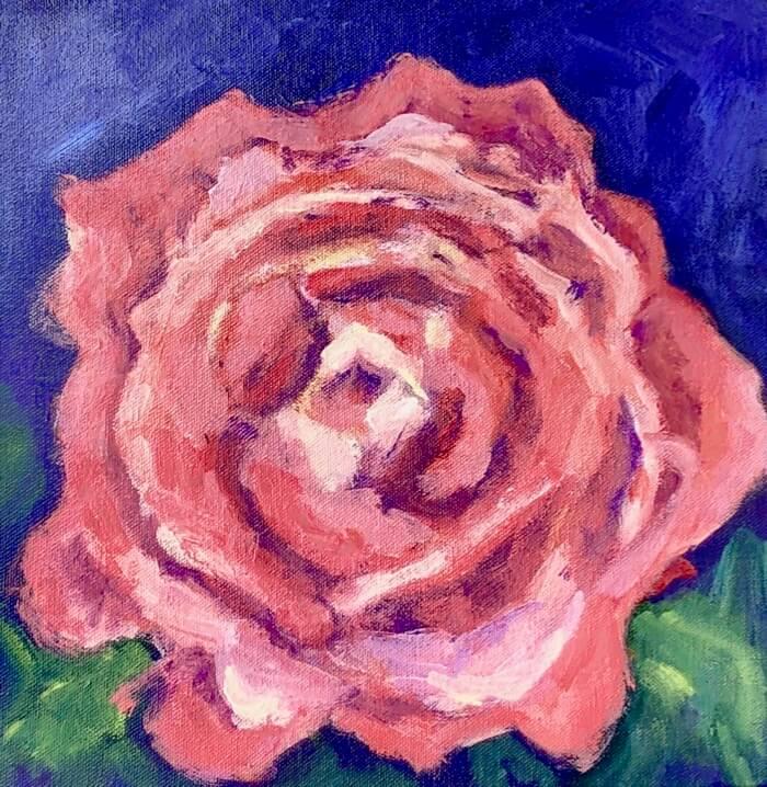Pink Slamon Rose
