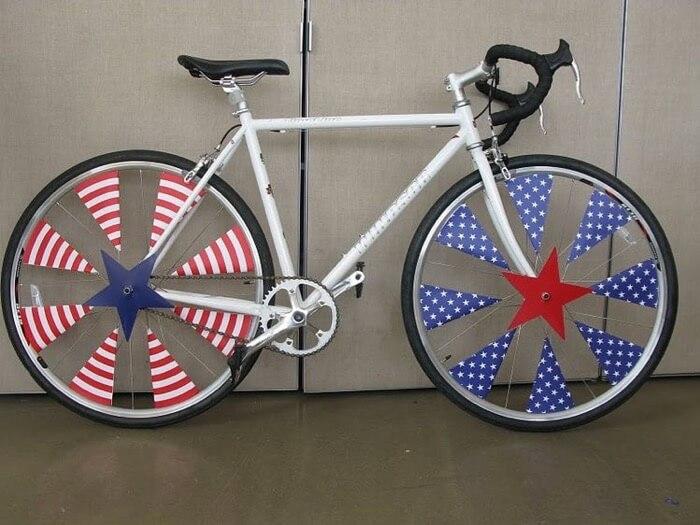 Patriotic bike