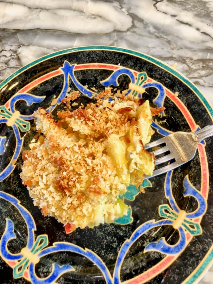 Summer Squash Casserole serving photo by Kathy Miller