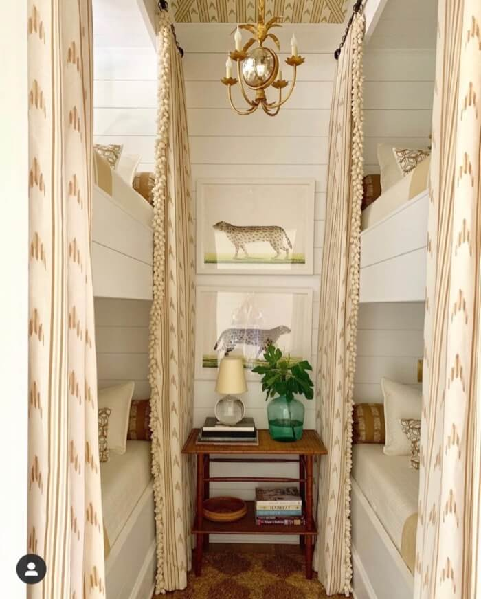 Bunk room Southern Living 2019 Idea House