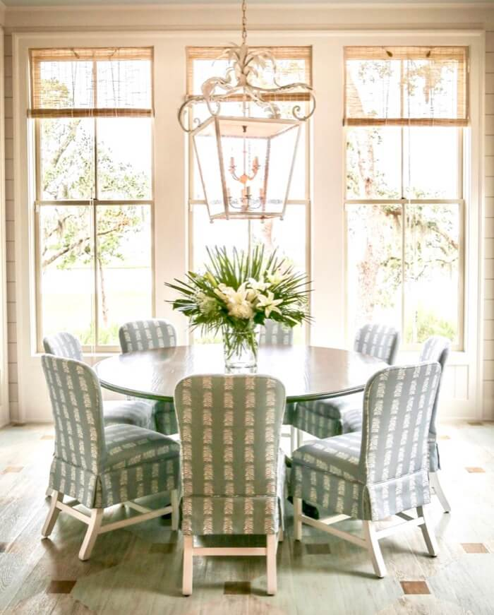 Dining spot Southern Living 2019 Idea House
