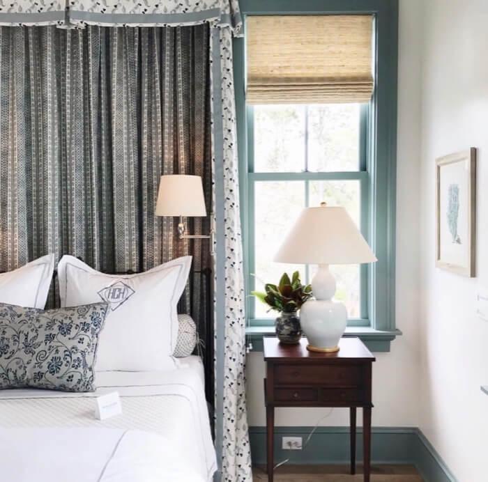 Guest bedroom closeup
