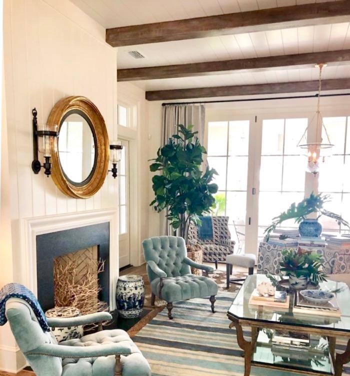 Living room Southern Living 2019 Idea House