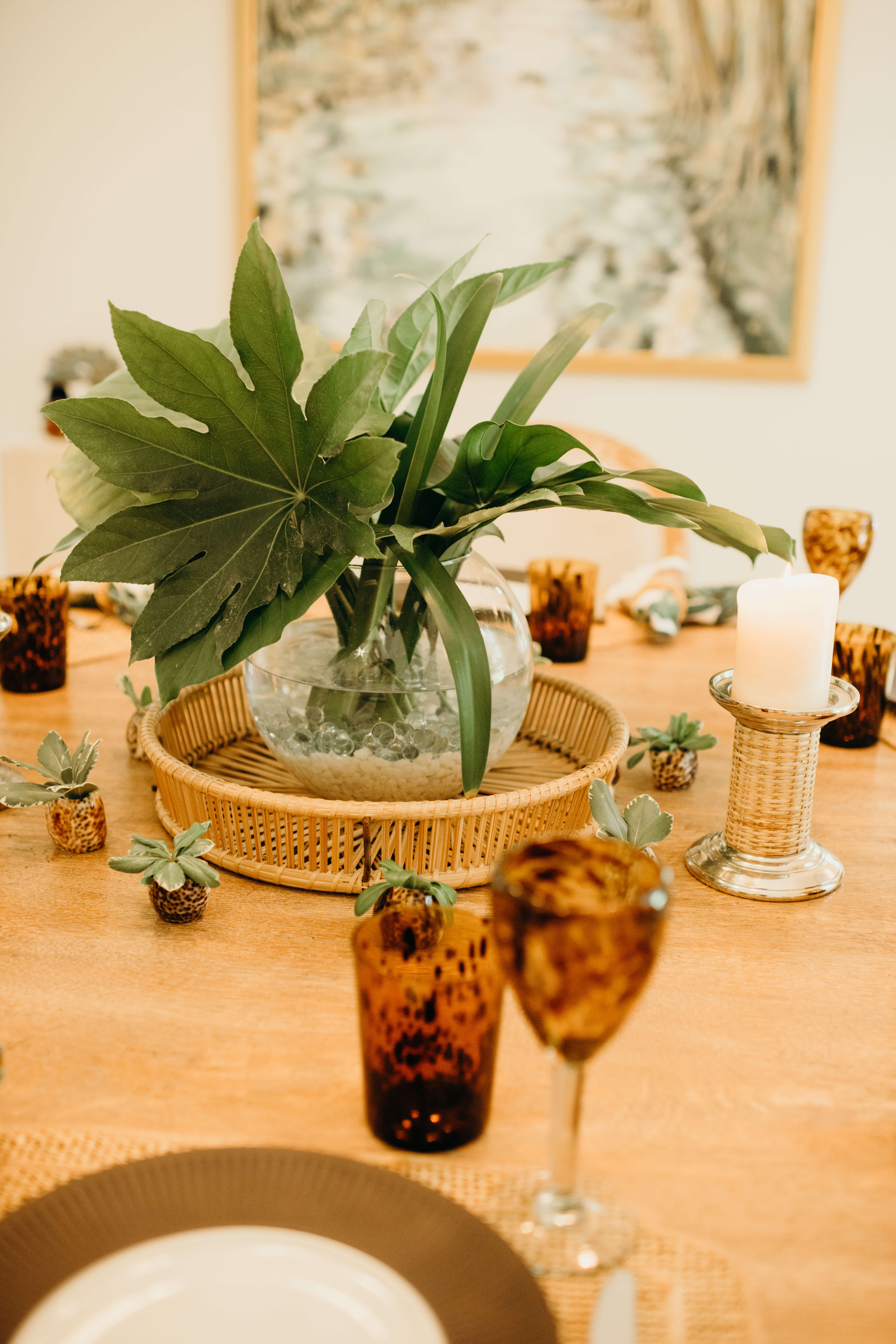 Louise's table setting vertical photo by Page Teahan