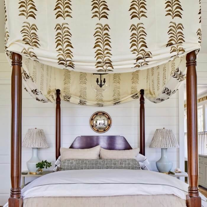 Mater bedroom canopy Southern Living 2019 Idea House
