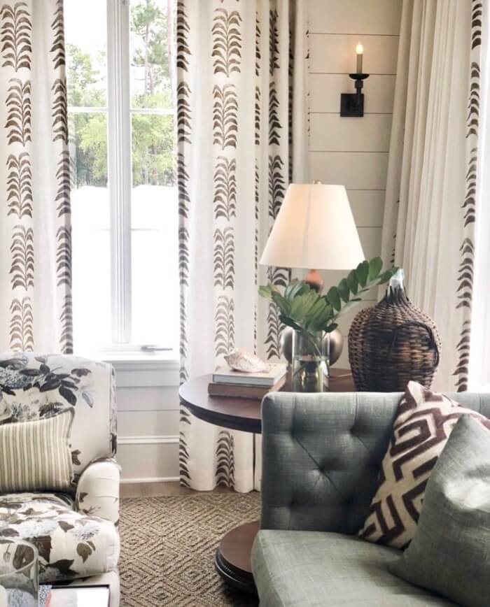 Master sitting area Southern Living 2019 Idea House