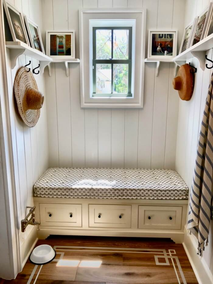 Mud area with pot filler for pets Southern Living 2019 Idea House