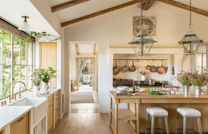 Patina Farm kitchen by Brooke and Steve Giannetti