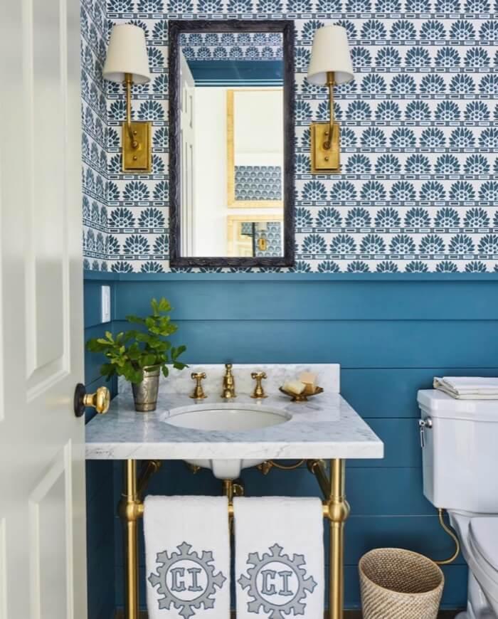 Powder Bath main level Southern Living 2019 Idea House