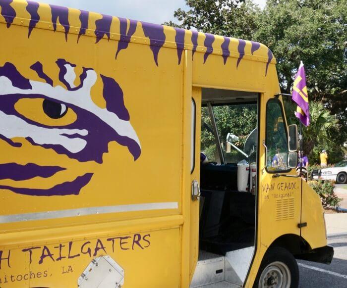 LSU Van Geaux Original photo by Kathy Miller