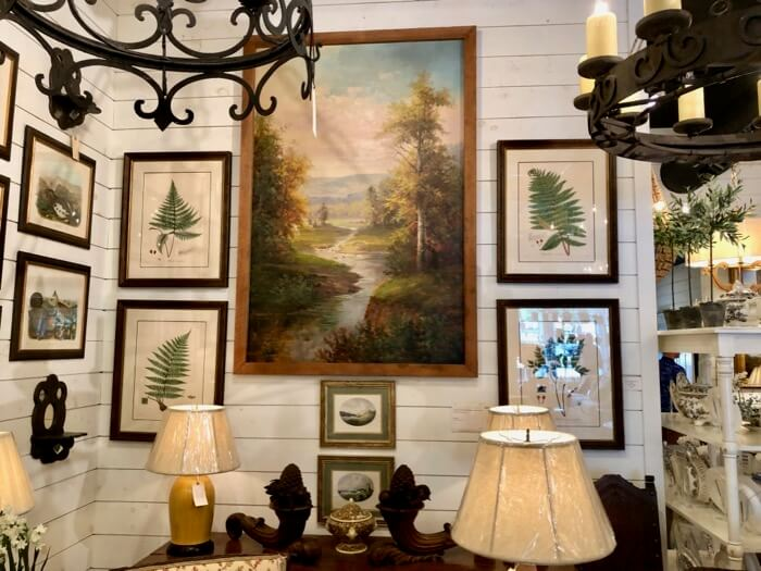 Antique Fern Prints at Toby West Antiues