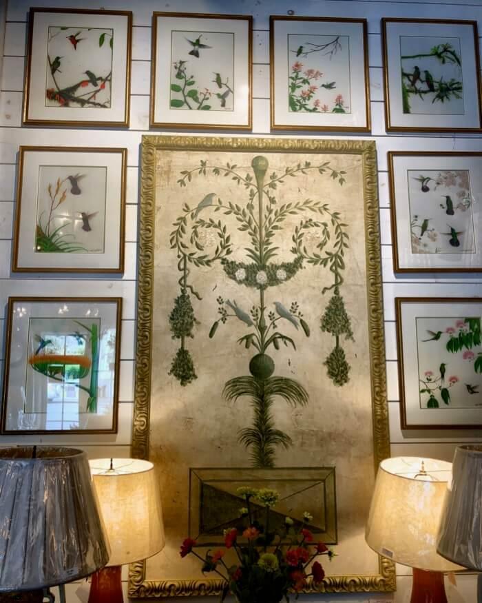 Hummingbirds prints at Toby West