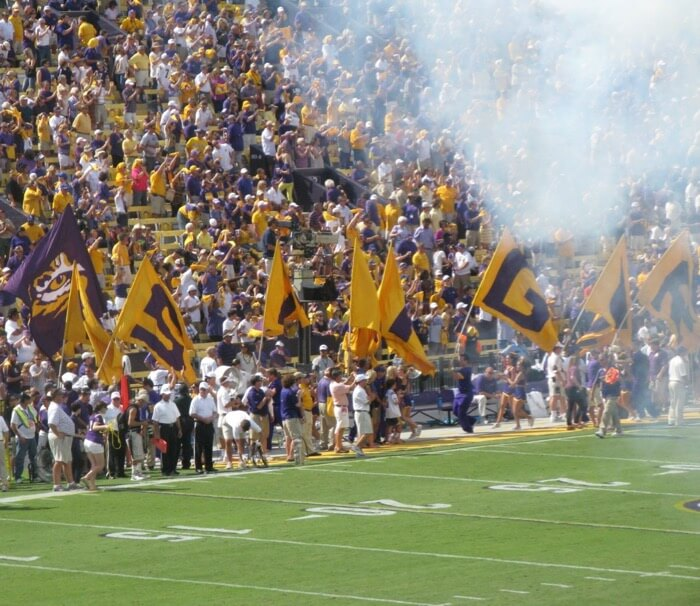 Here Come the Tigers LSU