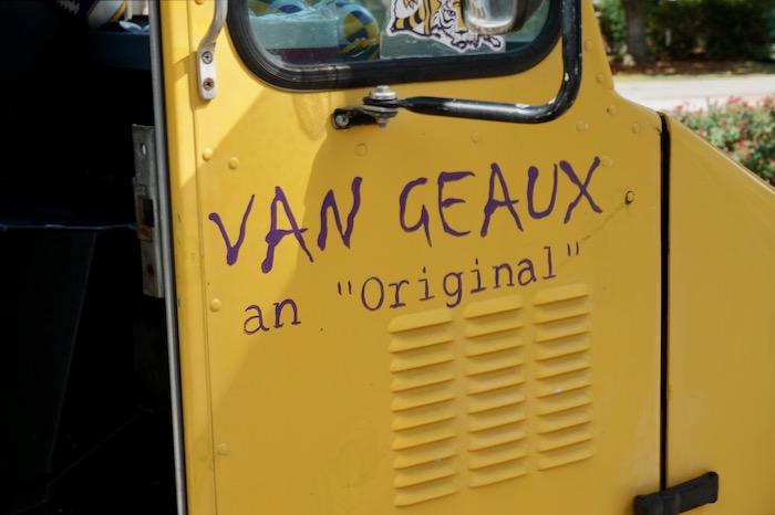 Van Geaux an Original photo by Kathy Miller