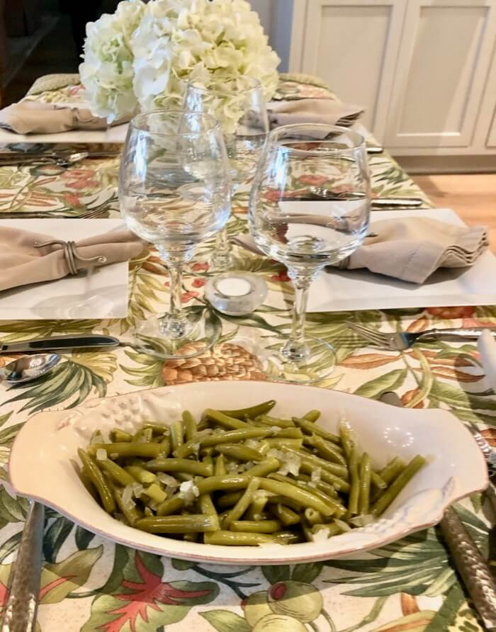 Country green beans photo by Kathy Miller