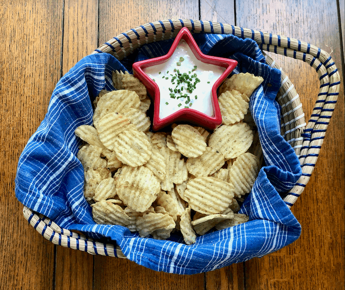 Home made French Onion Dip photo by Kathy Miller