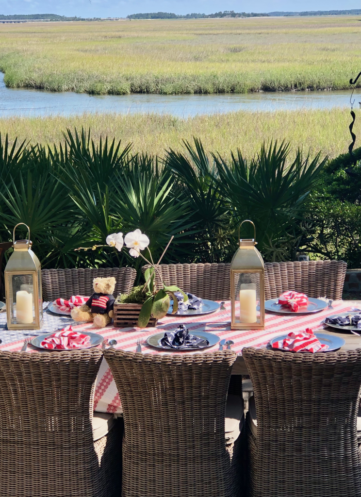 Memorial Day Table photo by Kathy Miller
