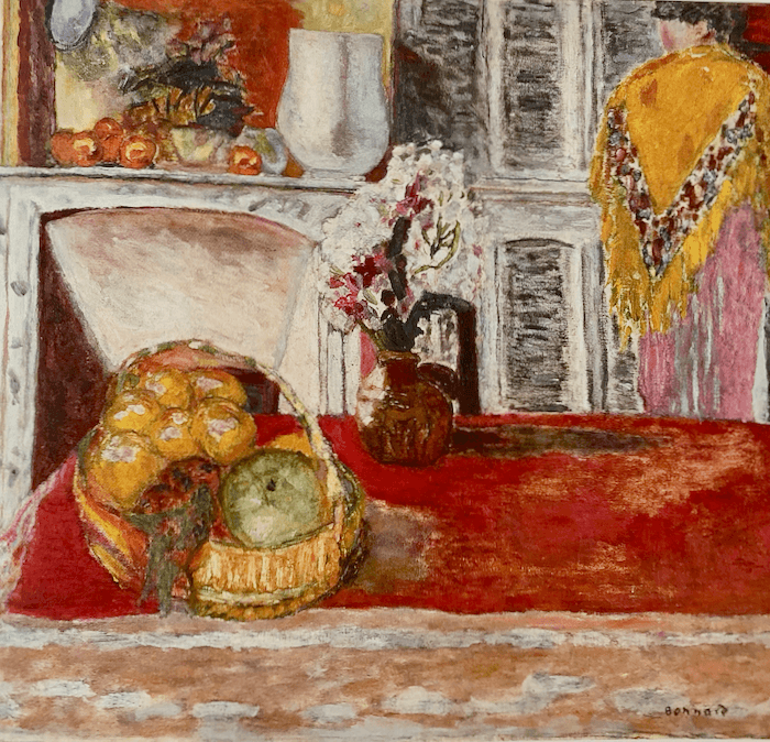 Pierre Bonnard's Corner of the Dining Room at Cannet